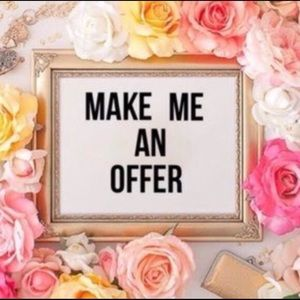 Make a reasonable offer on anything!!!!!